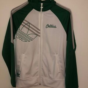 Celtics warm up jacket